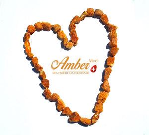 collana d'ambra Sand Amber Med